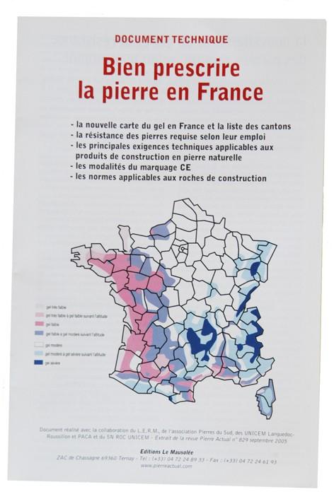bien prescrire la pierre en France