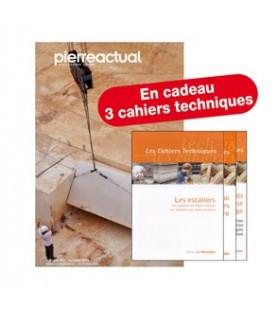 France Abonnement couplé 1 an Pierre Actual (papier + numérique). Cadeau 3 cahiers techniques