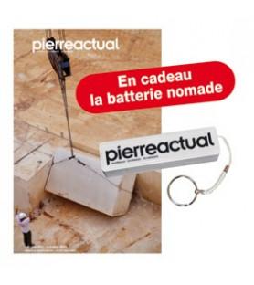 France Abonnement couplé 1 an Pierre Actual (papier + numérique). Cadeau la batterie de secours nomade