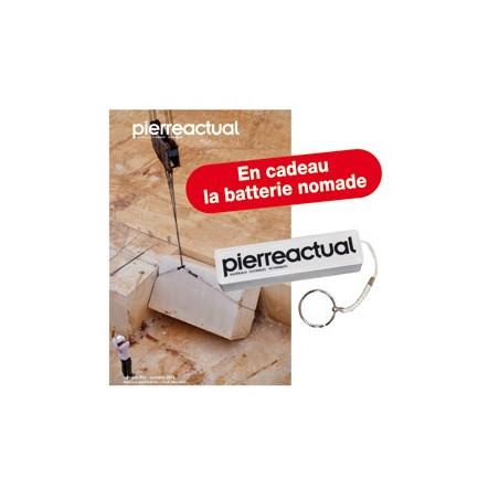 Abonnement 2 ans Pierre Actual Belgique pour résidents en France