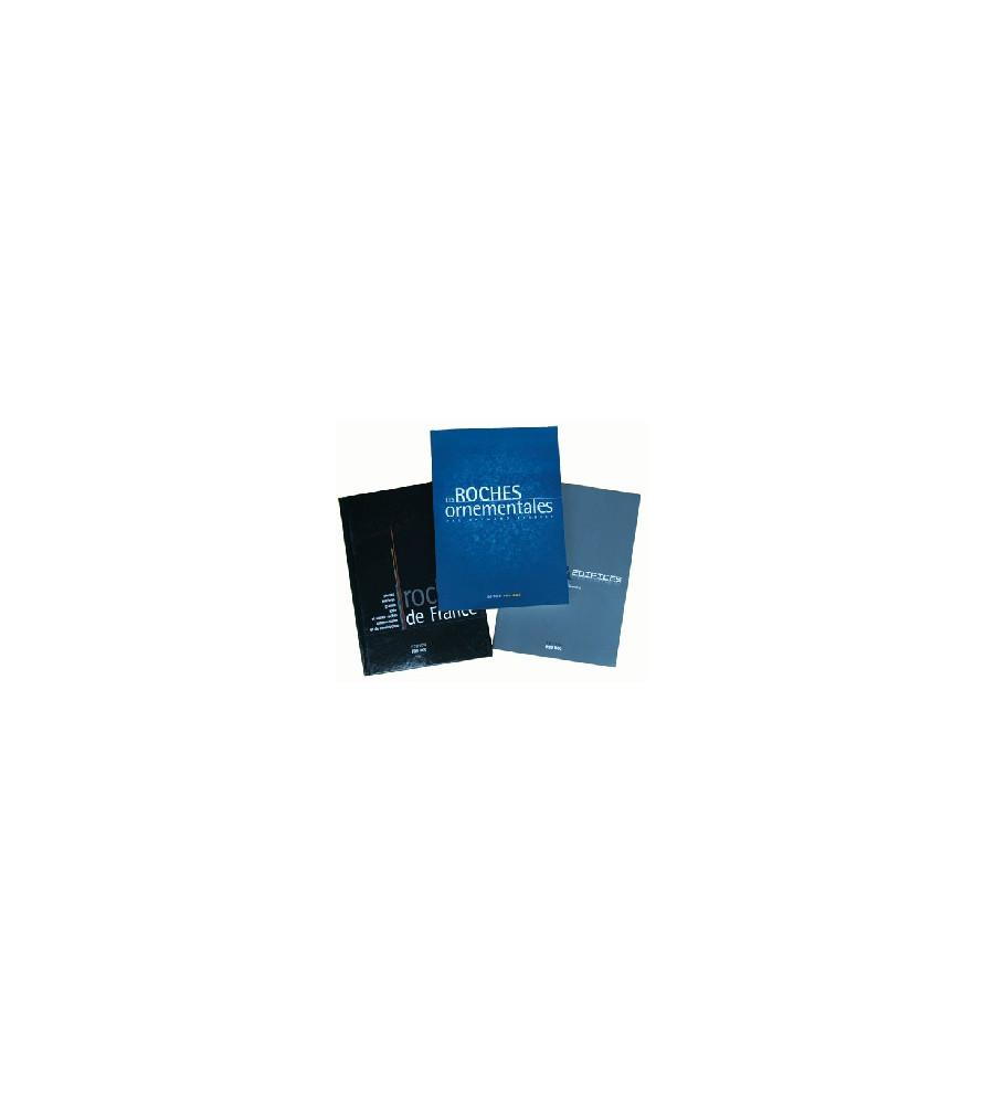PACK 3 OUVRAGES Frais de Port et CD Rom Roches de France OFFERTS